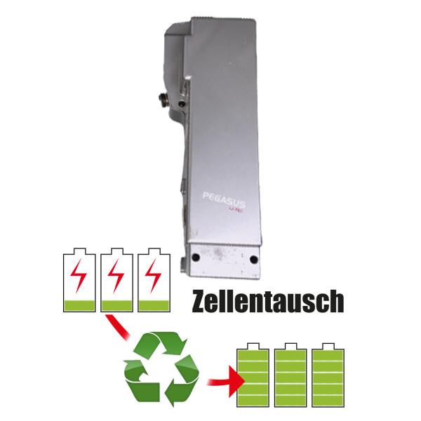 Akkureparatur - Zellentausch kompatibel für Pegasus E-Bike 25,2V von 14,5Ah / 365Wh bis 20,7Ah / 522Wh