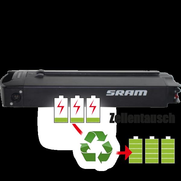 Akkureparatur - Zellentausch kompatibel für SRAM Ebike 36,2V von 10,2Ah / 369Wh bis 13,8Ah / 500Wh