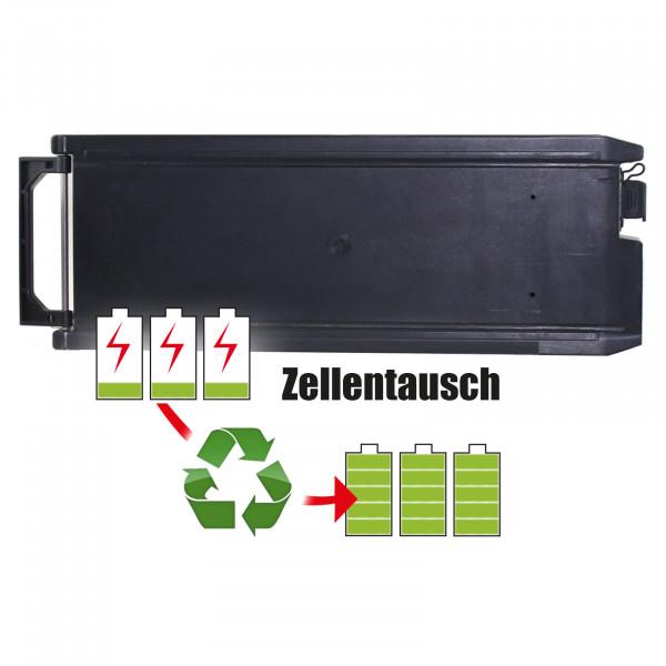 Akkureparatur - Zellentausch kompatibel für TranzX E-Bike 24,0V von 10,4Ah / 250Wh bis 13,8Ah / 331Wh