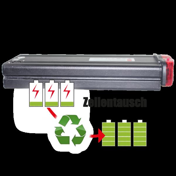 Akkureparatur - Zellentausch kompatibel für Panasonic Azur Bike E-Bike 26,0V von 17,4Ah / 452Wh bis 20,7Ah / 538Wh