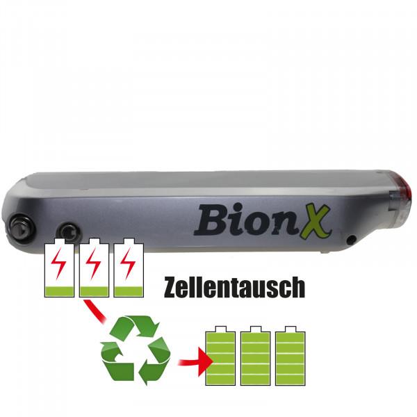 Akkureparatur - Zellentausch kompatibel für BionX E-Bike 36,0V von 15,6Ah / 562Wh bis 18,0Ah / 648Wh