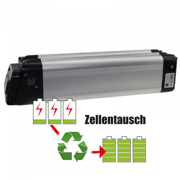 Akkureparatur - Zellentausch kompatibel für HiEnergy Battery E-Bike 26,0V von 15,6Ah / 406Wh bis 20,7Ah / 538Wh