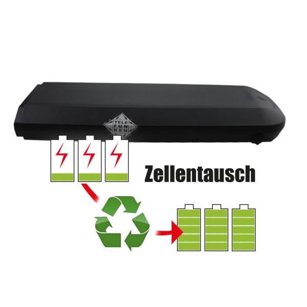 Akkureparatur - Zellentausch kompatibel für Telefunken E-Bike 36,0V von 12,8Ah / 459Wh bis 17,3Ah / 621Wh