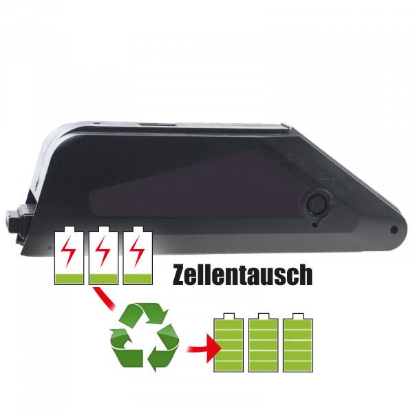 Akkureparatur - Zellentausch kompatibel für TranzX E-Bike 36,0V von 7,8Ah / 281Wh bis 10,4Ah / 373Wh