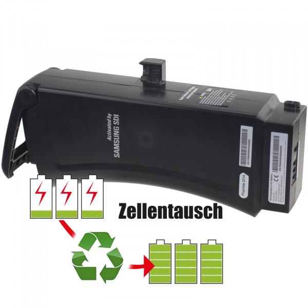 Akkureparatur - Zellentausch kompatibel für Samsung SDI E-Bike 36,0V von 10,4Ah / 374Wh bis 13,8Ah / 497Wh