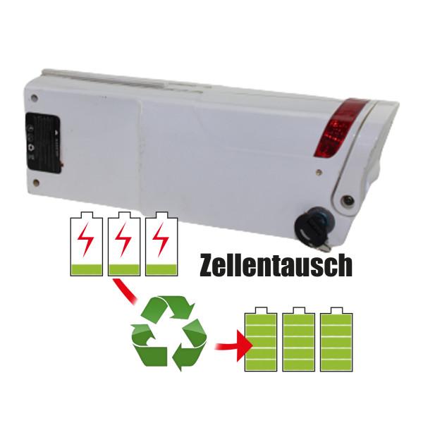 Akkureparatur - Zellentausch kompatibel für Unbekannt Ebike 36,0V von 15,3Ah / 551Wh bis 20,7Ah / 745Wh