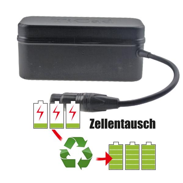 Akkureparatur - Zellentausch kompatibel für TiCad Golf-Trolley 14,8V von 20,0Ah / 295Wh bis 24,2Ah / 357Wh