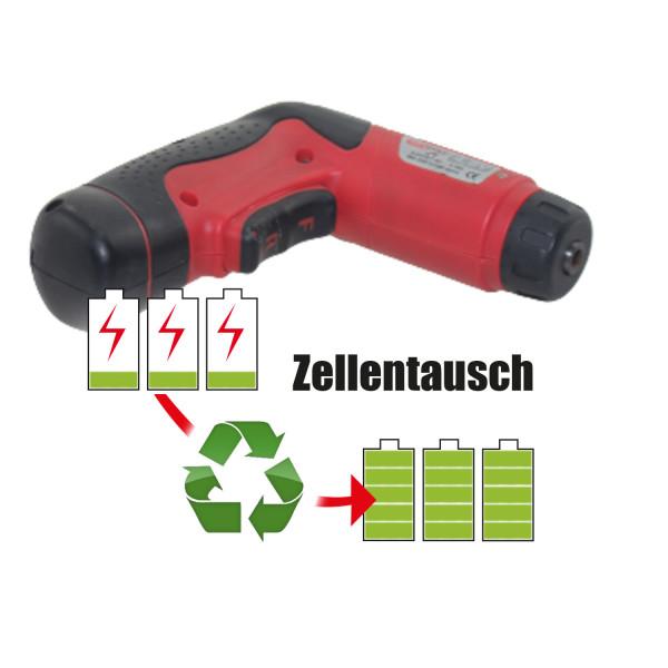 Akkureparatur - Zellentausch kompatibel für KS Tools Geräte 4,8V   1,6Ah / 7,68Wh