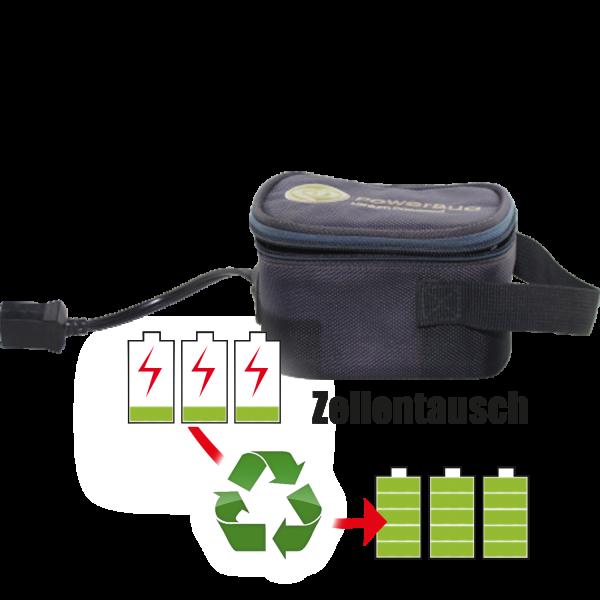 Akkureparatur - Zellentausch kompatibel für Hurricana Battery Golf-Trolley 14,8V von 15,3Ah / 226Wh bis 20,7Ah / 306Wh