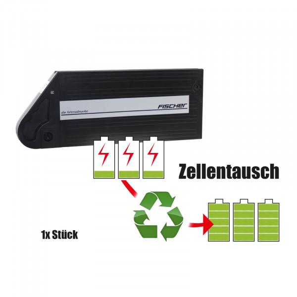 Akkureparatur - Zellentausch kompatibel für Fischer E-Bike 25,0V von 7,8Ah / 195Wh bis 10,4Ah / 259Wh