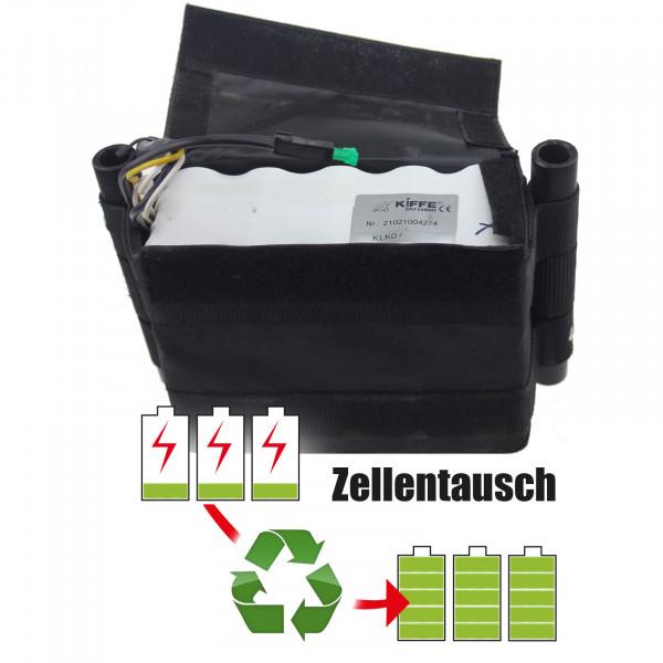 Akkureparatur - Zellentausch kompatibel für Kiffe Golf Trolley 24,0V | 9,0Ah / 216Wh