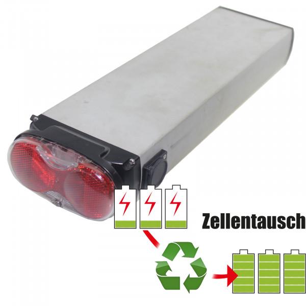 Akkureparatur - Zellentausch kompatibel für Promovec E-Bike 36,0V von 10,4Ah / 374Wh bis 13,8Ah / 497Wh