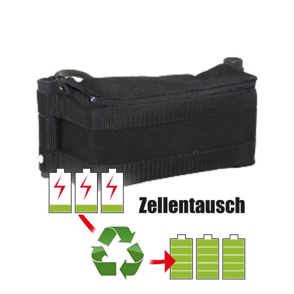 Akkureparatur - Zellentausch kompatibel für Kiffe Golf E-Trolley 25,9V von 8,7Ah / 225Wh bis 10,4Ah / 268Wh