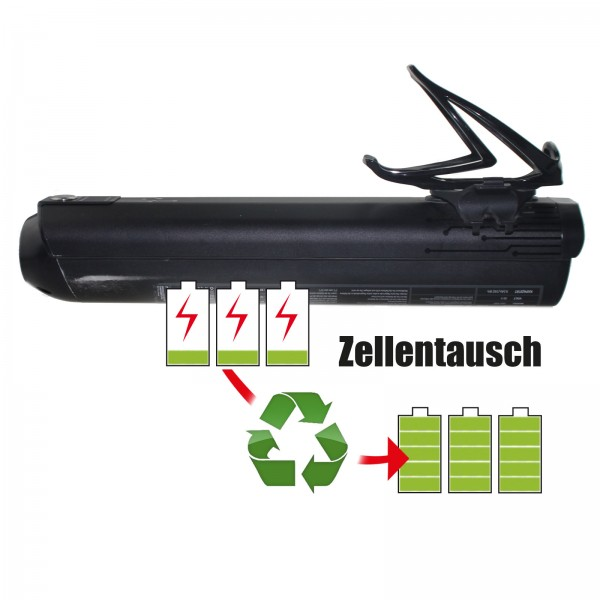 Akkureparatur - Zellentausch kompatibel für Specialized E-Bike Akku 36V von 13,0Ah/468Wh bis 17,25Ah/621Wh