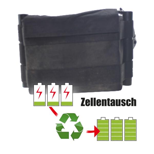 Akkureparatur - Zellentausch kompatibel für Kiffe Golf - Trolley 25,2V von 14,3Ah / 359Wh bis 17,3Ah / 435Wh