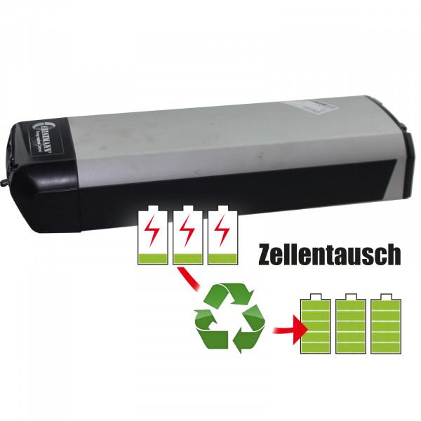 Akkureparatur - Zellentausch kompatibel für Heinzmann E-Bike 36,0V von 13,0Ah / 468Wh bis 17,3Ah / 621Wh