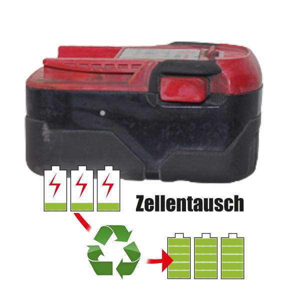Akkureparatur - Zellentausch kompatibel für Würth Akkuschrauber 18,0V von 5,2Ah / 94Wh bis 6,0Ah / 108Wh
