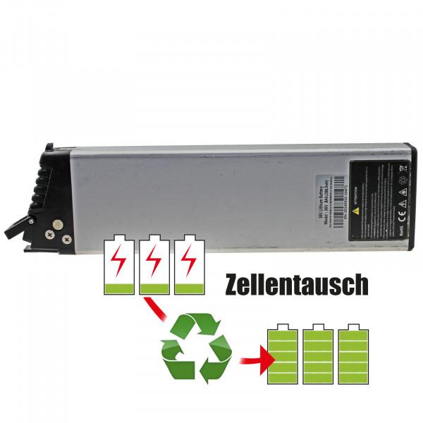 Akkureparatur - Zellentausch kompatibel für Samsung E-Bike 36,0V von 8,7Ah / 313Wh bis 10,4Ah / 373Wh