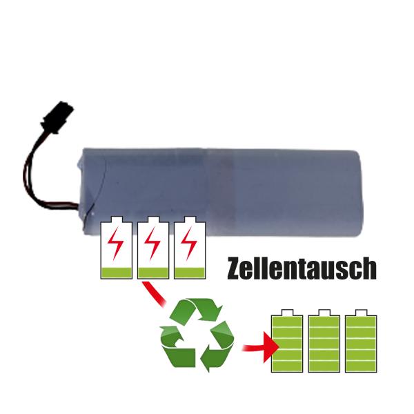 Akkureparatur - Zellentausch kompatibel für Acculux Geräte 3,6V von 5,2Ah / 19Wh bis 6,0Ah / 22Wh