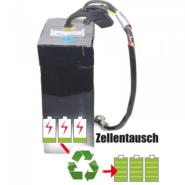 Akkureparatur - Zellentausch kompatibel für Jiangsu Front New Energy Golf-Trolley 12,0V von 28,5Ah / 342Wh bis 48,3Ah / 580Wh