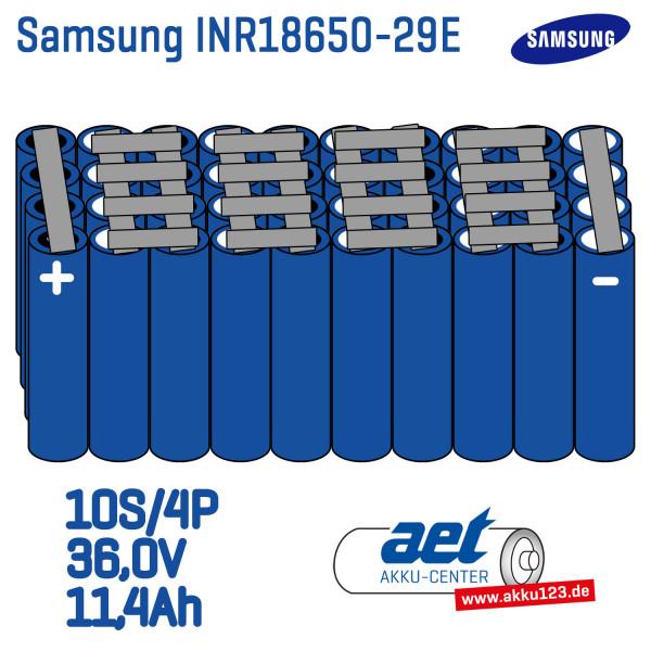 Akkupack kompatibel für Akku123 Universal 36,0V | 11,4Ah / 410,4Wh