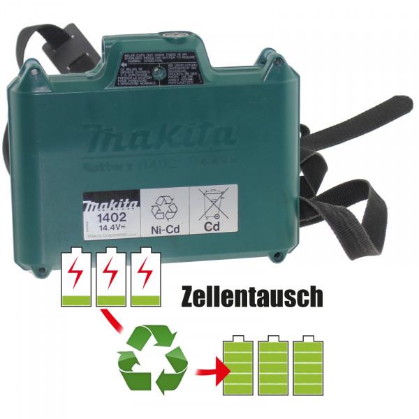 Akkureparatur - Zellentausch kompatibel für Makita Akku Zusatzakku 14,4V 9,0Ah NiMh