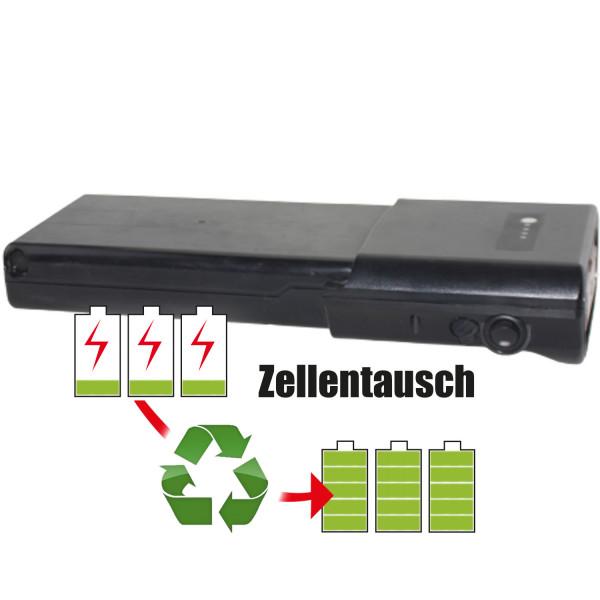 Akkureparatur - Zellentausch kompatibel für Ansmann Ebike 36,0V von 10,2Ah / 367Wh bis 13,8Ah / 497Wh