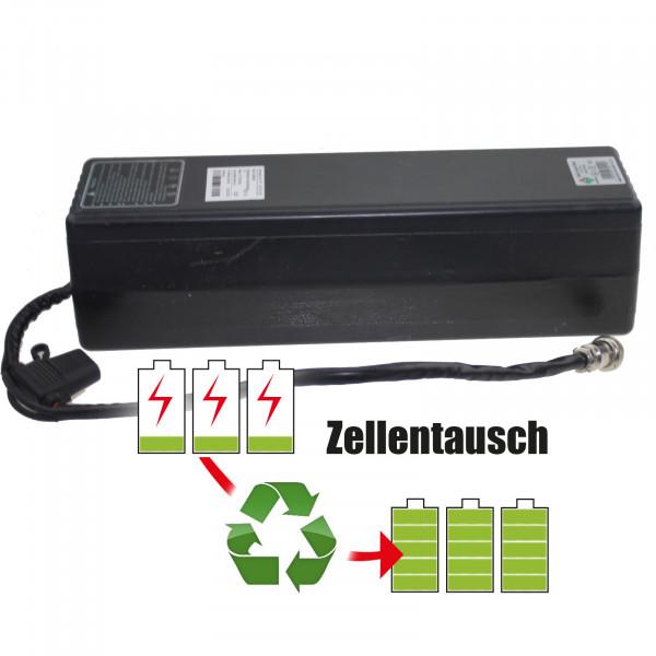 Akkureparatur - Zellentausch kompatibel für Caddy One E-Trolley 25,2V von 13,8Ah / 348Wh bis 20,7Ah / 522Wh