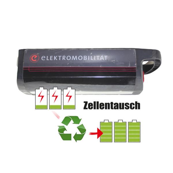 Akkureparatur - Zellentausch kompatibel für TD HiTech E-Bike 36,0V von 12,8Ah / 459Wh bis 17,3Ah / 621Wh