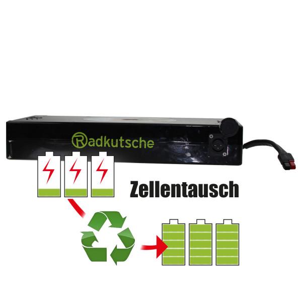 Akkureparatur - Zellentausch kompatibel für Ezee E-Bike 36,0V von 18,2Ah / 655Wh bis 24,2Ah / 869Wh