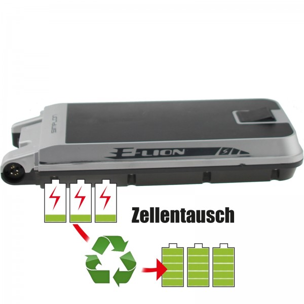 Akkureparatur - Zellentausch kompatibel für Simplon E-Bike Akku 36V von 10,4Ah/375Wh bis 13,8Ah/497Wh