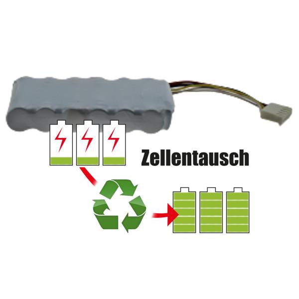 Akkureparatur - Zellentausch kompatibel für Bosch Geräte 7,2V von 7,7Ah / 55Wh bis 10,4Ah / 75Wh