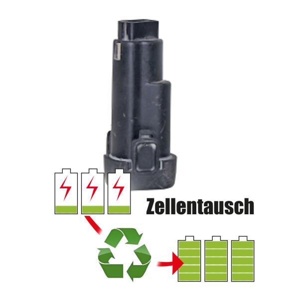 Akkureparatur - Zellentausch kompatibel für Rems Geräte 10,8V von 2,6Ah / 28Wh bis 3,0Ah / 32Wh